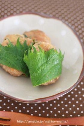 【おかず】豆腐入りふんわり鶏つくね