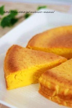 【ハロウィン】パンプキンチーズケーキ