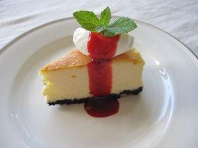 しっとりなめらか〜濃厚NYチーズケーキ