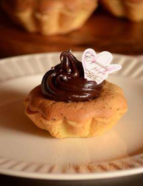 【バレンタイン】金柑と紅茶のチョコタルト