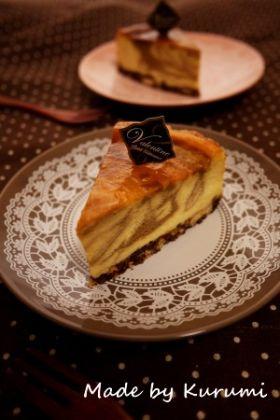 【バレンタイン】ティラミス風チーズケーキ