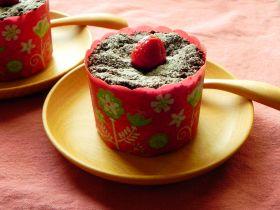 【バレンタイン】木苺のフォンダンショコラ