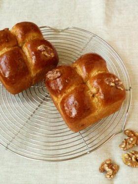 【クルミ】2倍楽しい^,^くるみパン。