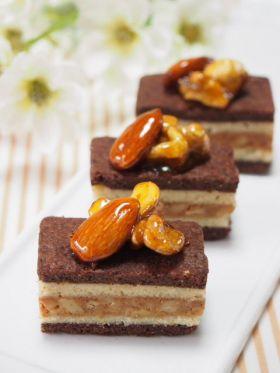 【クルミ】ショコラケーキ風くるみクッキー