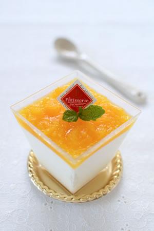 ふわふわヨーグルトムース☆オレンジ風味