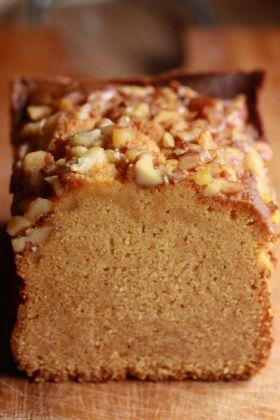 【くるみ】胡桃とキャラメルのケーキ