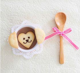 モンキーパーツクッキー(少量の型抜きクッキー生地に)