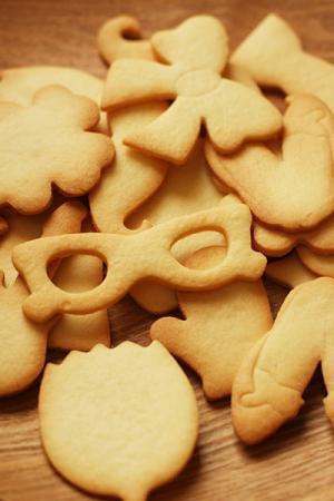 アイシングクッキー用型抜きクッキー