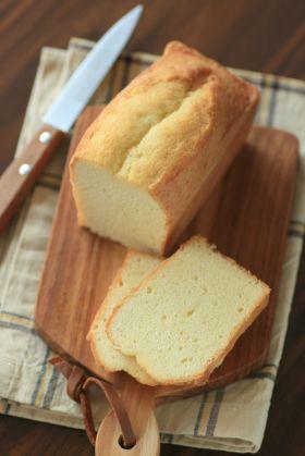 バニラのバターケーキ
