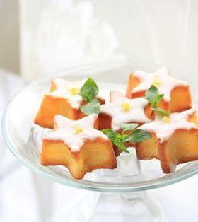 星形レモンケーキ