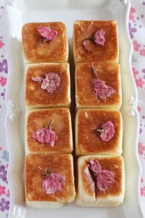 桜キューブあんパン
