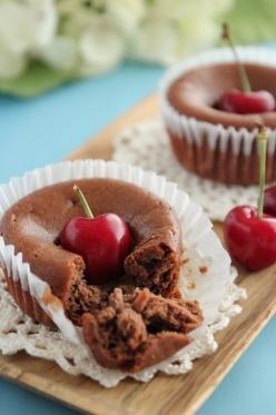 ラム酒風味のショコラフロマージュ(ベイクドチーズケーキ)