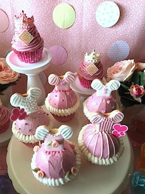 プリンセスカップケーキ