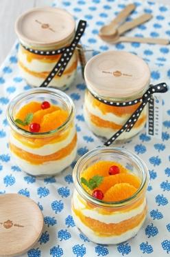 オレンジティラミススコップケーキ
