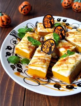 ♡チーズフロスティングonパンプキンタルト♡