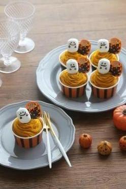 グルテンフリーでかぼちゃのモンブランケーキ