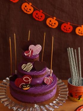 ★ハロウィンのネイキッドケーキ★