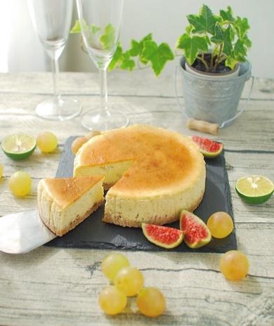 黒胡椒と蜂蜜のチーズケーキ