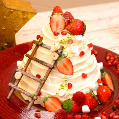 ホワイトツリーケーキ