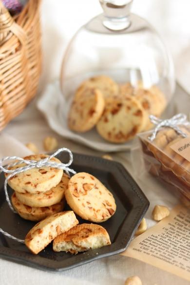 キャラメルナッツの塩クッキー