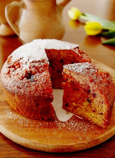 ビーツの素朴なケーキ♪