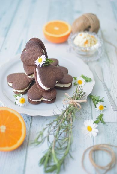 オレンジバターサンドクッキー