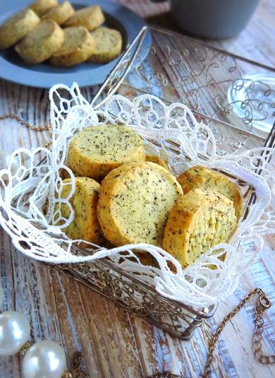 ♡超簡単失敗なし♡紅茶のアイスボックスクッキー♡