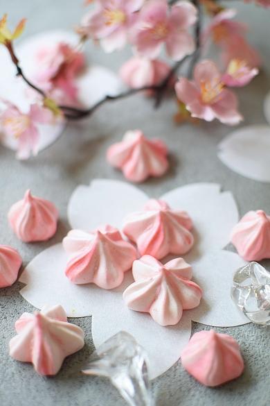 春爛漫☆桜メレンゲクッキー