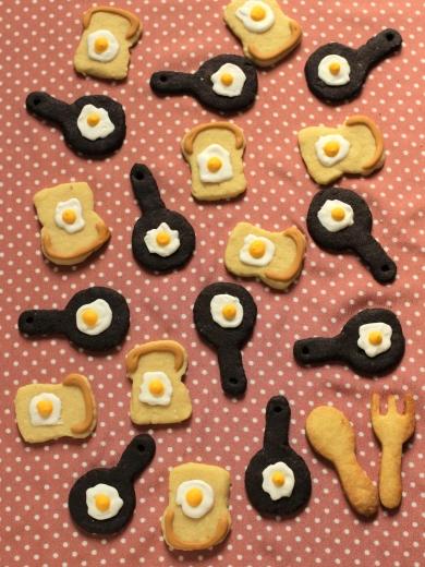 目玉焼きアイシングクッキー♪