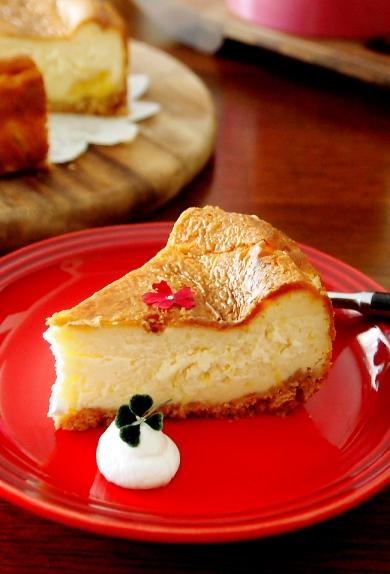 甘夏レモンのチーズケーキ♪