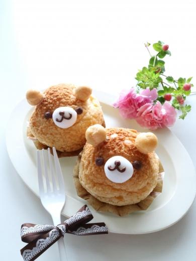 くまちゃんクッキーシュー