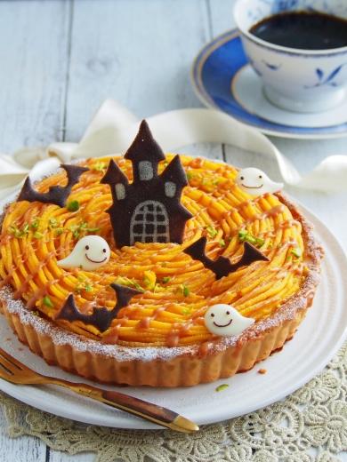 かぼちゃのプリンタルト☆
