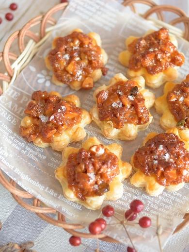 キャラメルナッツのプチパイ