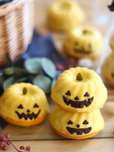 ジャックオランタンのかぼちゃクグロフ