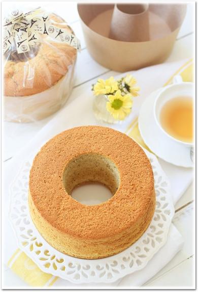 アールグレイ☆ミルクティーシフォンケーキ
