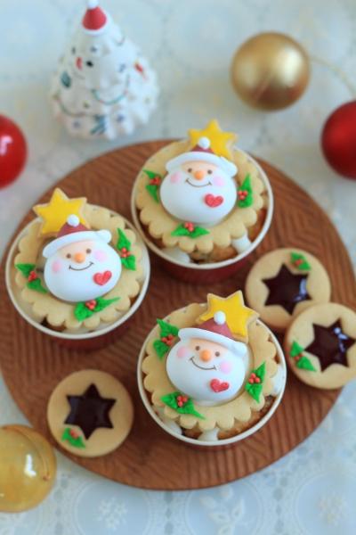 クリスマスリースマフィン
