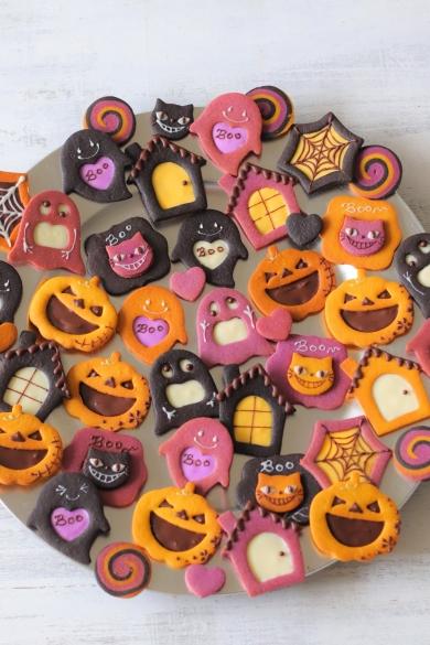 ハロウィンチョコクッキー