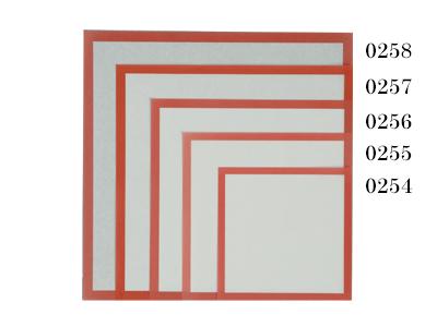 敷紙 7寸 赤枠 210×210
