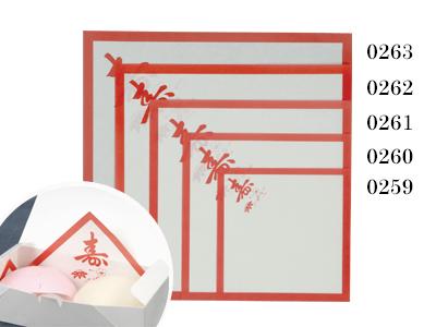 敷紙 6寸 スマ寿 180×180