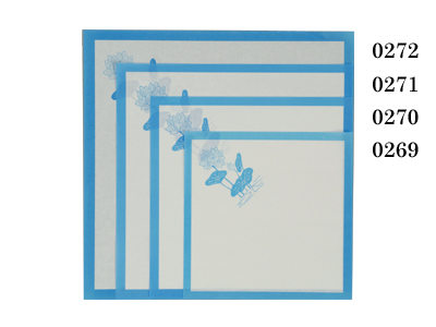 敷紙 7寸 青蓮 210×210