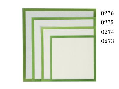 敷紙 8寸 緑枠