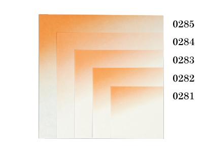 夢敷紙 4寸 オレンジ