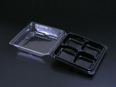和菓子容器 DS-4WE 片黒
