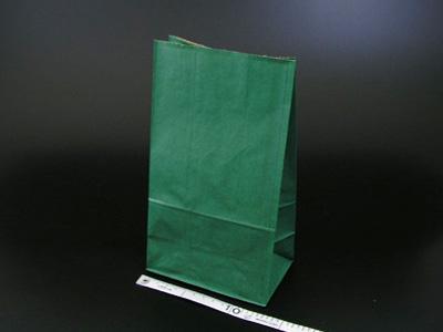 角底袋 未晒無地 緑 4