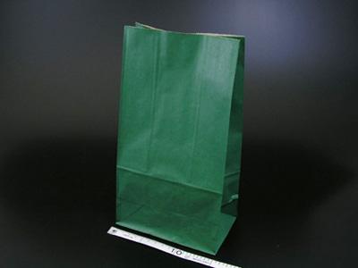 角底袋 未晒無地 緑 6