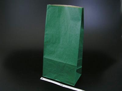 角底袋 未晒無地 緑 8