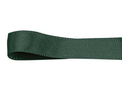 シングルサテン リボン 12mm 濃グリーン