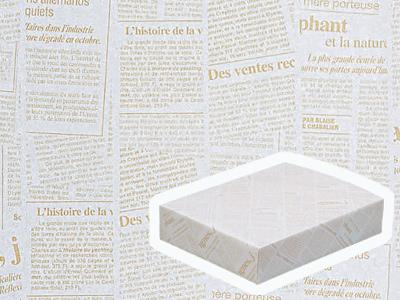 包装紙 100 半才特厚 ニュースレター
