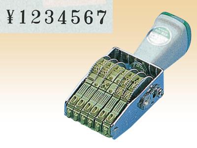 テクノタッチ回転印8連 TK-058