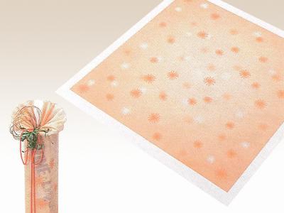 アラカルト 水明かり オレンジ 75×75cm